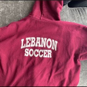 Urban Outfitters Tops - Lebanon Soccer Hoodie